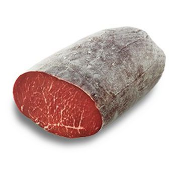 DRIED BLACK ANGUS BEEF 1/2, VACUUM-WRAPPED, RIGAMONTI