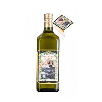 SORRENTO SYRRENTUM EXTRA VIRGIN OLIVE OIL, GLASS, 1 LT GARGIULO