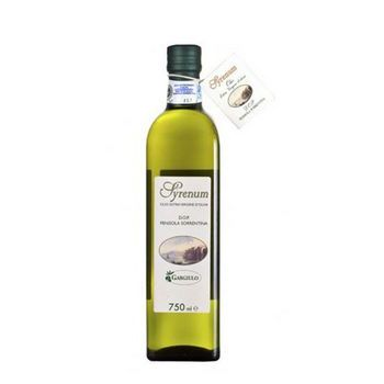 DOP SORRENTO SYRENUM EXTRA VIRGIN OLIVE OIL, 750 ML, GLASS, GARGIULO