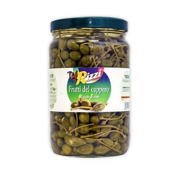 CAPER FRUIT IN VINEGAR, JAR, GR.560-RIZZI