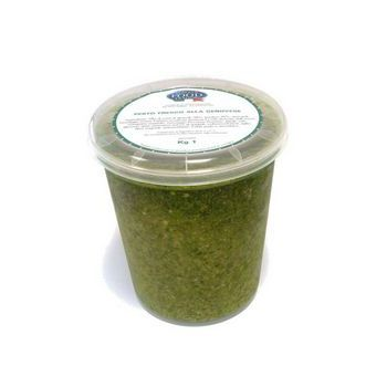 FRESH GENOESE PESTO (NO GARLIC), KG 1, WHITE LABEL