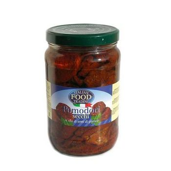 DRY TOMATOES IN OIL, JAR, GR.1700 IFT