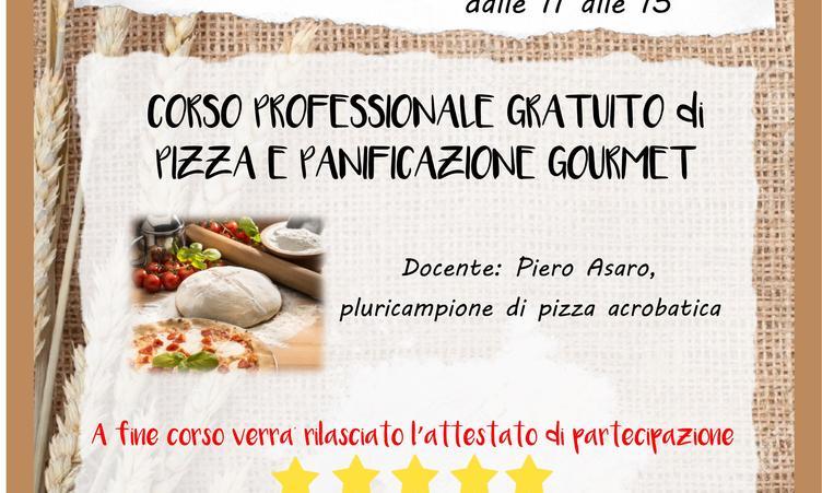 Corso Pizza e panificazione Gourmet