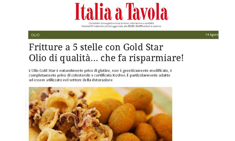 Fritture a 5 stelle