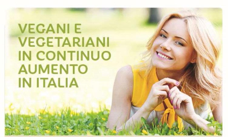 Always more Vegan and Vegetarians in Italy