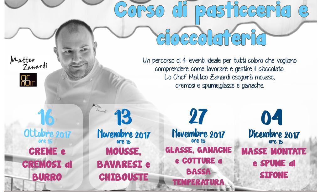 Corso pasticceria e cioccolateria Chef Matteo Zanardi